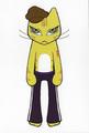 ポストカード「cat 003」/成田青央