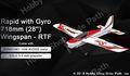 OMPHobby S720 フタバS-FHSS BTF OFSジャイロ搭載スポーツトレーナー機