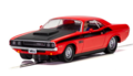 C4065 Dodge Challenger T/A - Red and Black