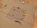 スーパーヘビーTシャツ ダークキャメル
