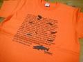 ハイクオリティTシャツ カリフォルニアオレンジ