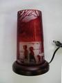 小型ランプ 赤      (お家へ帰ろう)