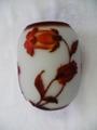2色花瓶 白・赤    (ホタルブクロ)