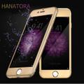 iPhone6 Plus  HANATORA強化ガラス3Dアルミカバー