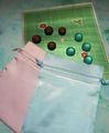 クリスマス9路とスケル・ストンのセット(巾着袋付)