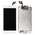 iPhone6S-国内再製白ガラス イヤーメッシュ無