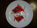 曼荼羅 絵皿 NO.4