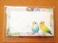 メッセージカード(コザクラ)