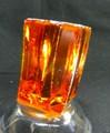天然ジルコン原石・オレンジゴールド210,3G(スリランカ産)