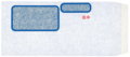 OBC MF-12 単票請求書窓付封筒シール付 1000入り