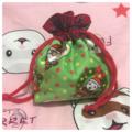 クリスマス巾着袋①~③