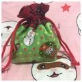 クリスマス巾着袋④~⑥