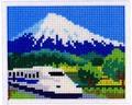ミニギャラリー MG080 新幹線と富士山