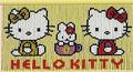 スキルスクリーン S221 キティ&ミミィ(HELLO KITTY) 【送料無料】