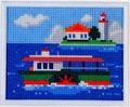 ミニギャラリー MG075 灯台と船