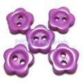 お花のボタン(パープル)5ヶセット