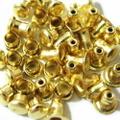 ミニカシメ4ミリ(ゴールド)
