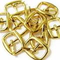 メッキバックル・楕円10ヶセット(ゴールド)
