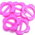 プラバックル・フラワー5ヶセット(ピンク)