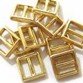 メッキバックル・極小10ヶセット(ゴールド)