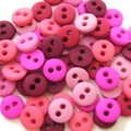 ミニボタン6ミリセット(ピンク系)