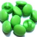 マーブルボタン・平丸6ミリ(黄緑)