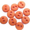 ミニボタン6ミリ(オレンジ)