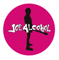 JOE ALCOHOL BADGE PINK(直径57mm)