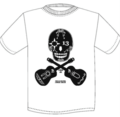 【予約商品】JOE ALCOHOL 30th aniversary NEW SKULL Tシャツ ホワイト