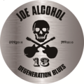 【防水】JOE ALCOHOL DEGENERATION BLUES ステッカー