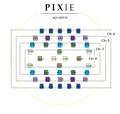 Pixie/ASTA用 JUNオリジナルLEDチップ (REEF用)