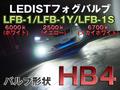 【HB4】LEDISTフォグランプバルブ【6000k/2500k/6700k】