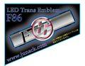 LEDトランスエンブレムF86 ブルー