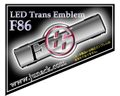 LEDトランスエンブレムF86 ホワイト