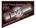 LEDトランスエンブレムF86 レッド<特注>
