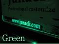 LED trans plate    LED グリーン