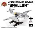 ドイツ軍メッサーシュミットMe-262 Swallow