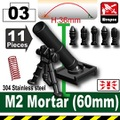 M2 60mm迫撃砲セット