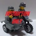 PDF説明書:ドイツ軍陸軍・親衛隊軍用バイク(サイドカー付き)
