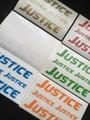 JUSTICE ロゴステッカーセット