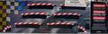 Carrera 1/32 1/24 カーブ 1/30 アウト側 ショルダー 6枚セット(180度分 エプロン付属)20567