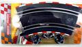 Carrera Go!!! 1/43 Slot Car Parts 2/45ハイバンクカーブ 4枚セット 61646