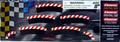 Carrera 1/32 1/24 カーブ 2/30 アウト側 ショルダー 6枚セット(180度分 エプロン付属)20562