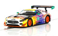 Scalextric c3941 Mercedes AMG GT3 Daytona 24 Hours 2017 DPR w/Lights メルセデス