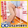 置楽(おきらく)立ち上がり手すり トイレ用 TAT-002T