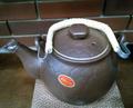 亀甲土瓶(茶) 小 1.5リットル (ウチダ和漢薬)