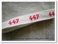 アンティーク*ナンバーテープ(447)箱なし