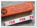 アンティーク*ナンバーテープ(768)