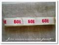 アンティーク*ナンバーテープ/601箱なし