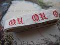 アンティーク*イニシャルテープ (OU)ひげ文字